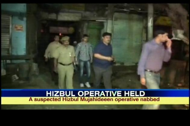 Sources say the suspected operative, along with others, had carried out recce for possible terror attacks at busy marketplaces during Holi.