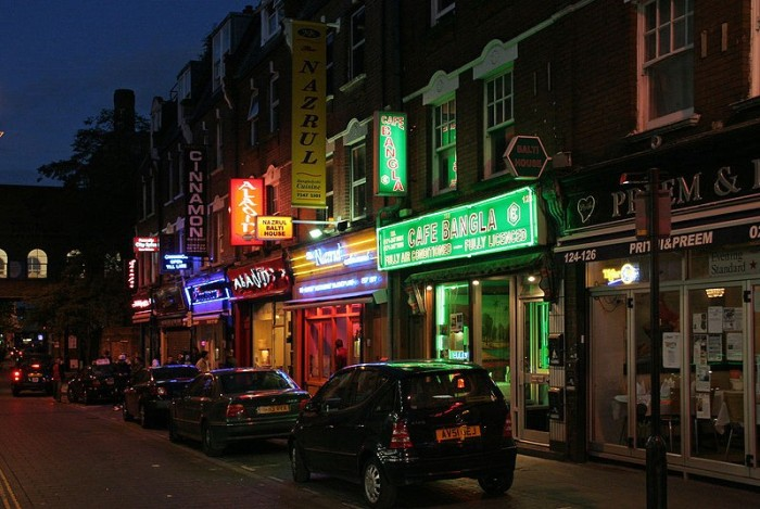 Brick Lane is one of London's leading nightspots