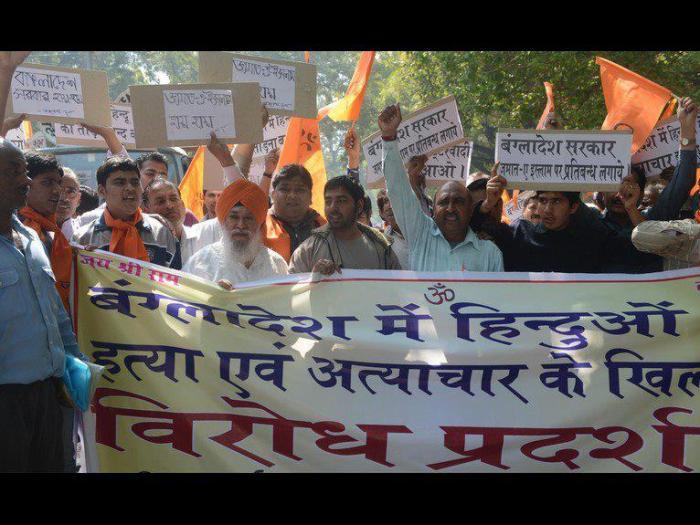 Minority Hindus attacked in Bangladesh