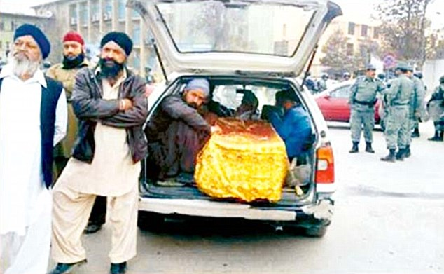 Final journey: Hindus and Sikhs in Pakistan have to travel long distances owing to the dearth of cremation grounds.